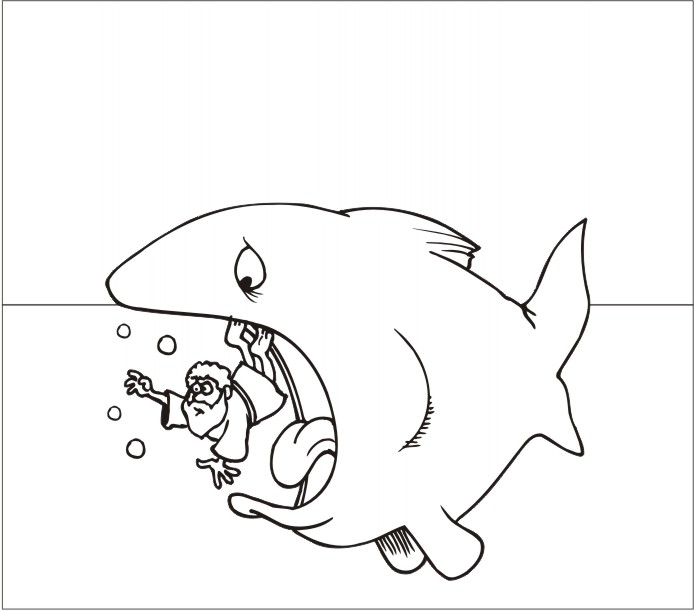 fish template image