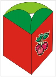 Cherries Triange Box Kid's Craft
