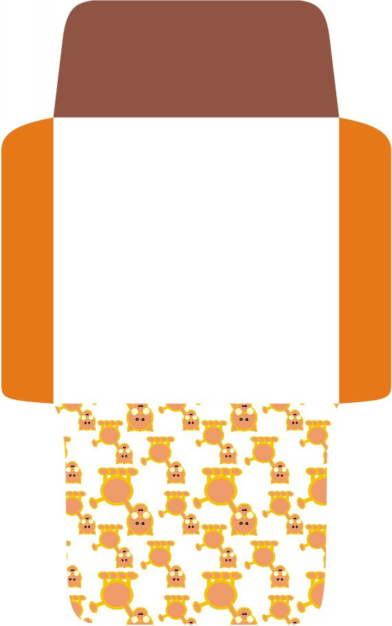 Printable Envelope Cat Template