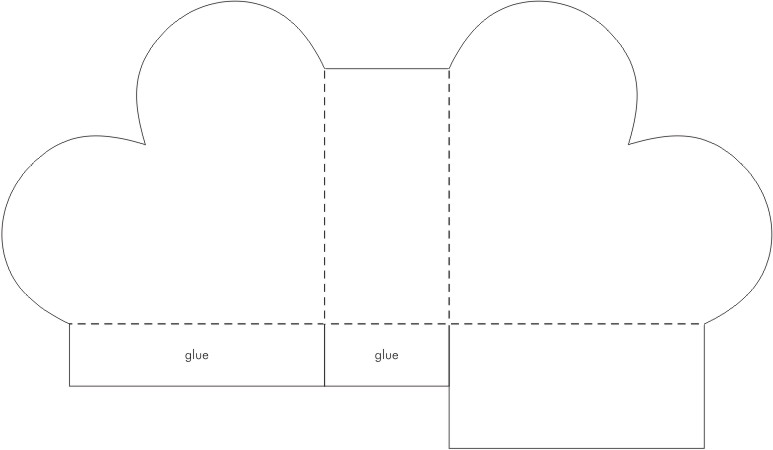 Printable Valentine Heart Box Template