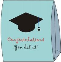 Graduation Gift Bag Craft Template