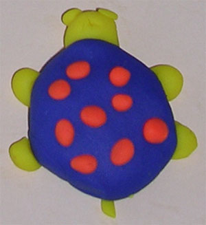 turtle clay craft